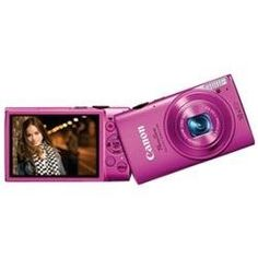 "NEW Canon PowerShot 330 HS 12.1 Megapixel Compact Camera - Pink - 3"" LCD - 10x O"