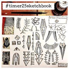III milliande de III: Timer 25 Sketchbook Studies - Day 6