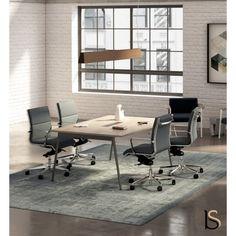 Tables de reunion design · Table de réunion X3, 4 personnes – Officity ebc2d059fc50