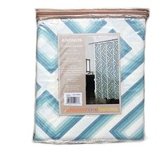 Shower Curtain Fabric Tahari Home Milan Scroll Large