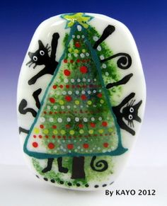We need a little Christmas - so show me yours! - Page 7 - Lampwork Etc.  Smartassglass.com