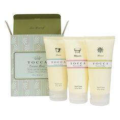 TOCCA(トッカ) ハンドクリームセット (クレオパトラ・フローレンス・ビアンカの香り)