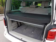 VW T5/T6 Multiflexboard + L-Scharnier + Board + Matratze - Schlafpaket RG50/50   eBay T5 Transporter, Vw T5 Caravelle, Camper Beds, Rv Camping, Bed Ideas, Van Life, Campers, Mattress, Bed