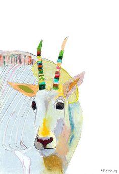 kelly packer: mountain goat