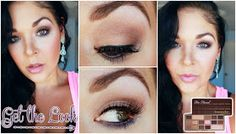 Get The Look | Too Faced Chocolate Bar Palette