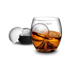 On the rock glass+ice ball