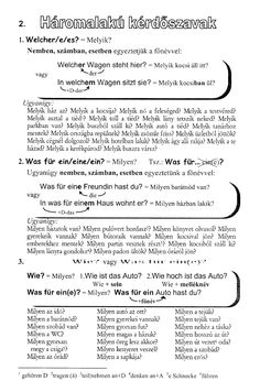 Maklári Tamás - Német nyelvtani ABC Der Bus, Learn German, English, Math Equations, Learning, Facebook, German Language Learning, Grammar, Fruit