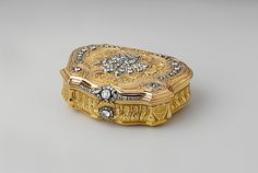 Snuffbox  Daniel Govaers (or Gouers)  (master 1717, active 1736)  Date: 1734–35