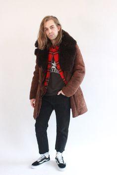 Vintage 80s Luxuriously Thick Sheepskin Coat by WastelandVintageUK on Etsy