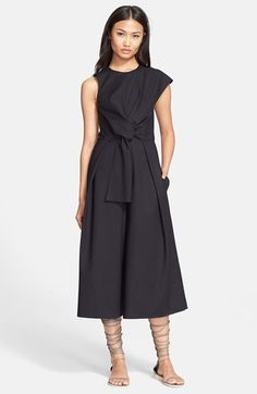 Tibi+'Agathe'+Bow+Front+Jumpsuit+available+at+#Nordstrom