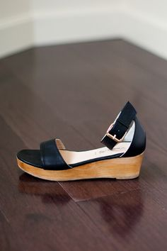 Flatform - Black Leather | Emerson Fry $295 (no such thing as too many flatforms)