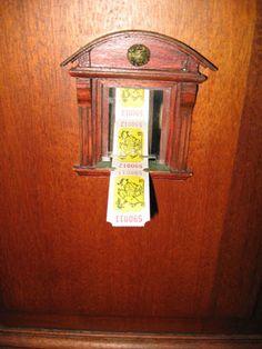 Urban Fairies, fairy doors, fairy door, Fairies, fairy doors of Ann Arbor, original fairy doors, fairy door The Ark, fairy ticket window