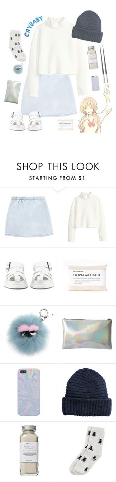 """tag set"" by xxbohemian-saillxx ❤ liked on Polyvore featuring interior, interiors, interior design, home, home decor, interior decorating, H&M, Dr. Martens, Fig+Yarrow and Fendi"