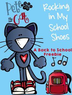 The Groovy Teacher: Pete the Cat Rocks It Back to School