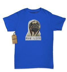 Pug Life Funny Thug Life Womens T-shirt