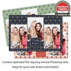 Lots of angles. All of the angles. We love triangles and patterns! Photobooth Template, All Fonts, Photoshop Elements, Text Color, Psd Templates, Triangles, Photo Booth, Overlays, Patterns