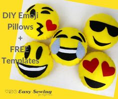 In this tutorial I'll be showing you how make DIY Emoji pillows! I have also made some free templates for you to download if you don't feel like drawing the facial features yourself. I have a special helper for this tutorial as it has been created to celebrate Sew A Softie Month. You can find …
