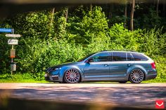 Skoda-Octavia-RS2-On-VFS2-By-Vossen-Whee Wagon Cars, Aftermarket Wheels, Shooting Brake, Cars And Motorcycles, Touring, Volkswagen, Jeep, Erotica, Euro