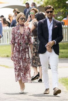 OP & JH - Olivia Palermo - 2016 Veuve Clicquot Polo Classic in New Jersey - June 4, 2016