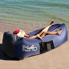 Amazon.com : WindPouch Go Inflatable Hammock, Royal Purple : Sports & Outdoors