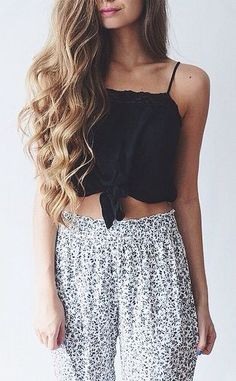 #summer #fashion / relaxed