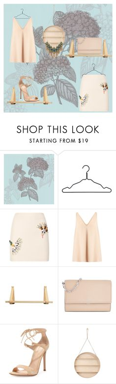 """Nude"" by glamheartcafe ❤ liked on Polyvore featuring Fornasetti, Nomess, STELLA McCARTNEY, Jayson Home, Michael Kors, Gianvito Rossi, ferm LIVING and Lucky Brand"