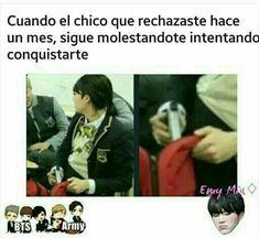😂😂no me pasa Memes Bts Español, Funny Memes, Namjin, Bts Chibi, I Love Bts, Rap Monster, Bts Suga, Yoonmin, Jikook