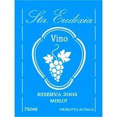 Stencil Rótulo Vinho 15x20 - OPA