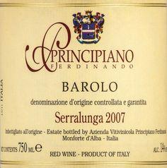 2007 Ferdinando Principiano Barolo Serralunga