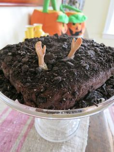 graveyard cake #halloween