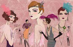 Modeconnect.com - Fashion Illustration by Anja Kroencke