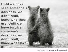 Until We Have Seen Someone's Darkness We Don't Really Know Who They Are - Witty Quote