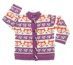 Nordic Kids_purple_cardigans G would absolutely love this!
