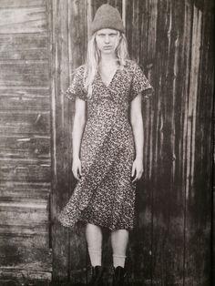 Liberty print cotton dress
