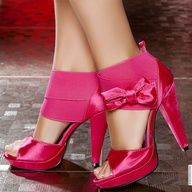 Weddings | Pretty in Pink - Fabulous - #shoes  #pink #bridesmaids