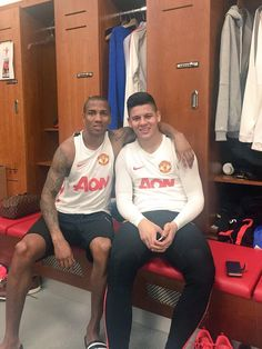 "Ashley Young: ""Happy birthday @marcosrojo5 #argentina"" 20.3.2015"