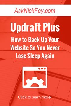 Learn how to back up your blog or wordpress website using this amazing plugin so you never lose sleep again. (blogging tips for beginners, online business lessons new bloggers, pinterest traffic tips, email list growth, email list tips, website design ideas, website design templates, affiliate marketing tips, selling digital products, blogger resources, website traffic tips, blogging mistakes to avoid)