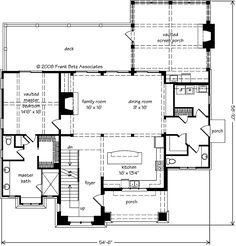 Elkhorn - Frank Betz Associates, Inc. | Southern Living House Plans