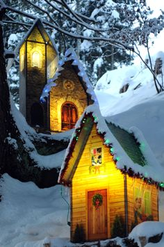 Christmas Village in Caux (Montreux Riviera, Switzerland)
