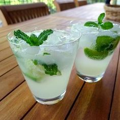 "The Real Mojito | ""Delicious and refreshing! Can't wait until I have fresh mint again to make these!"""