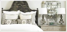 pillows, side table Tiny House, Bedrooms, Bedroom Decor, Pillows, Table, Furniture, Home Decor, Quartos, Homemade Home Decor