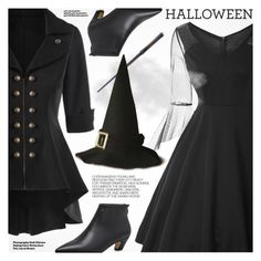 """Halloween Party"" by pokadoll ❤ liked on Polyvore featuring Hedi Slimane"