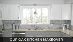 This has been a long time coming, so excited to share our oak kitchen makeover!