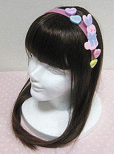 Angelic Pretty / Headwear / Dreamy Bunny Headband (Pink)