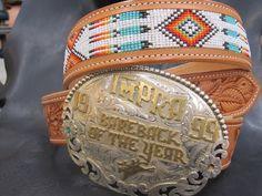 Beaded belt from Martiny Saddle Co. I LOVE IT!!!