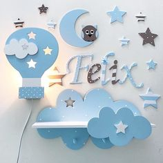 Wooden bedroom wall or door letter Alphabet en bois lettres 15 & 10 cm Personalised Wooden Toy Box, Wooden Toy Boxes, Baby Room Design, Baby Room Decor, Nursery Decor, Small Kitchen Furniture, Kids Furniture, Bedroom Furniture, Furniture Buyers