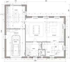 Craftsman Floor Plans, House Floor Plans, Im Coming Home, Villa, Apartment Floor Plans, House Layouts, Traditional House, Home Interior Design, Future House