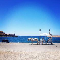 dolce vita: μια μέρα στα όμορφα Χανιά! Greece Islands, Greece Travel, See It, Santorini, My Dream, Places To Travel, Beautiful Places, Crete Greece, Sky