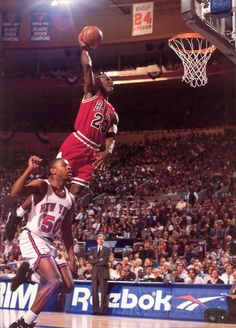 MJ all day! He couldn't stay away. Help make the game what it is today!