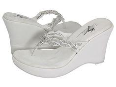 18031689ae330 VOLATILE Bridal. Wedding WedgesBeach Wedding ShoesBridal WedgesBridal  SandalsWedge ...